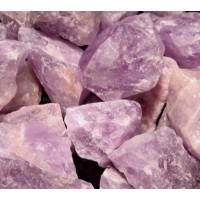 "1"" Unique ROUGH UnCUT NATURAL AMETHYST Crystal SToNES Wicca Pagan GOTHIiC"