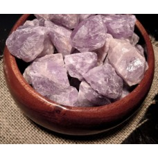 "1.5"" Unique ROUGH UnCUT NATURAL AMETHYST Crystal SToNES Wicca Pagan GOTHIiC"